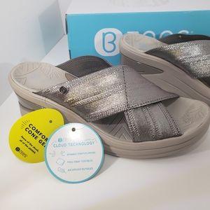 Brand New Bronze COMFORT Machine Wash Sandals 7.5